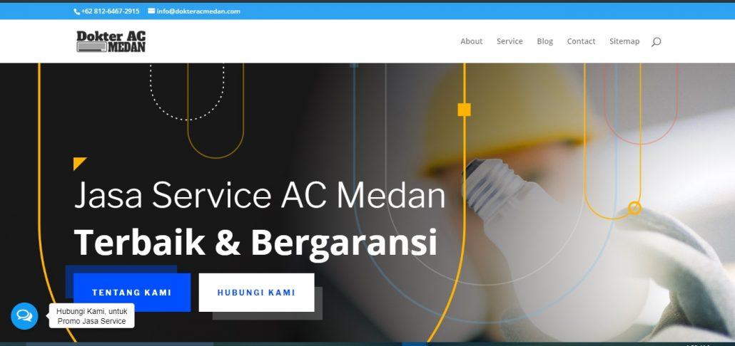Jasa Service AC Medan